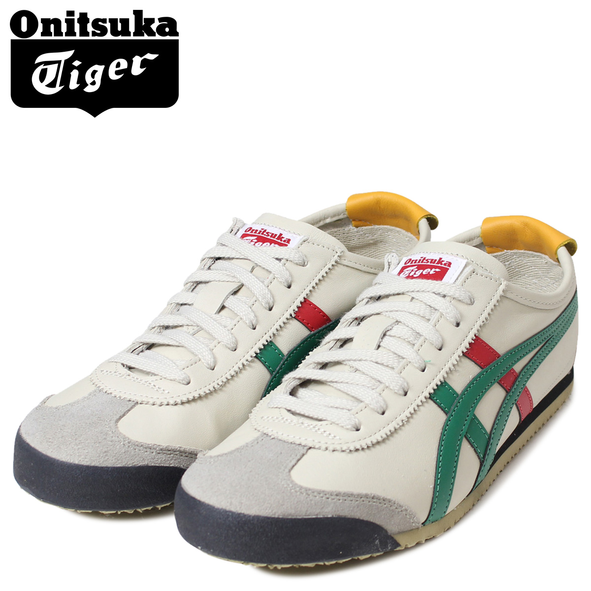 pretty nice 94a0d 49ad7 Onitsuka Tiger asics ONITSUKA Tiger ASICs Mexico 66 sneaker THL202-1684  MEXICO 66 men's women's shoes natural