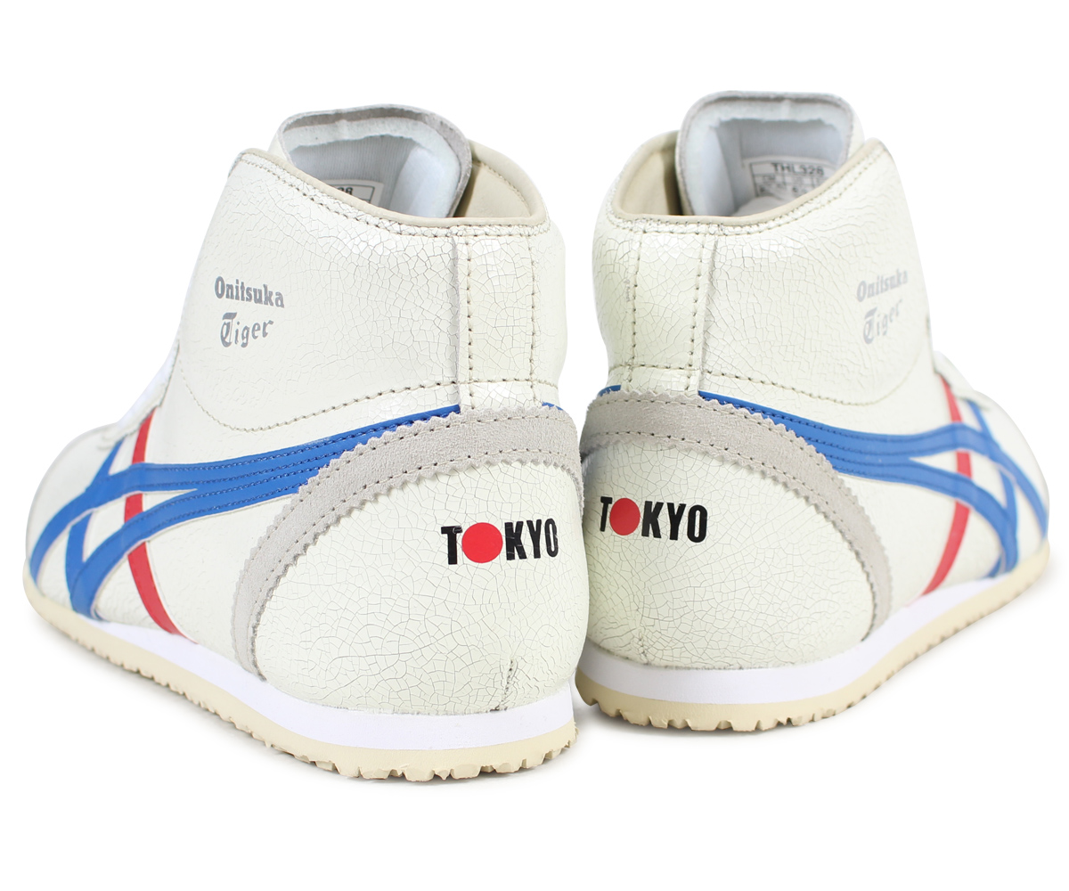 finest selection 99dc6 4b4d9 Onitsuka Tiger MEXICO MID RUNNER Onitsuka tiger Mexico mid runner men  sneakers DL328-0142 THL328-0142 white
