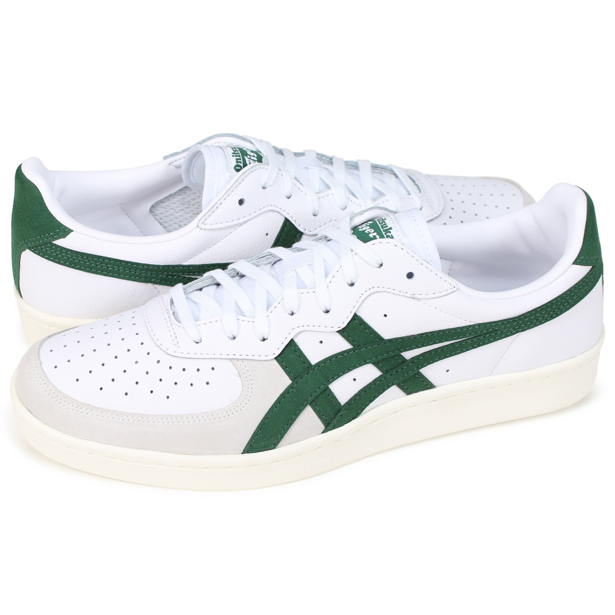 official photos 60739 8da04 Onitsuka Tiger GSM Onitsuka Thailand ghazi S M men sneakers TH5K2Y-101  white [8/2 Shinnyu load]