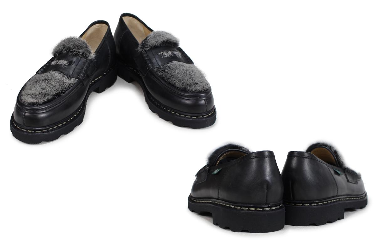 PARABOOT REIMS パラブーツ ランス シューズ ローファー 102985 メンズ 靴 ブラック