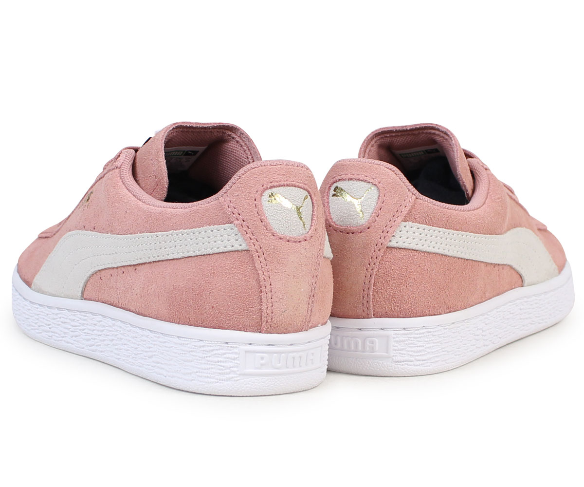 premium selection 20fc9 23bfe PUMA SUEDE CLASSIC WMNS Puma suede classical music Lady's sneakers  355,462-56 men's shoes pink [load planned Shinnyu load in reservation  product 12/14 ...