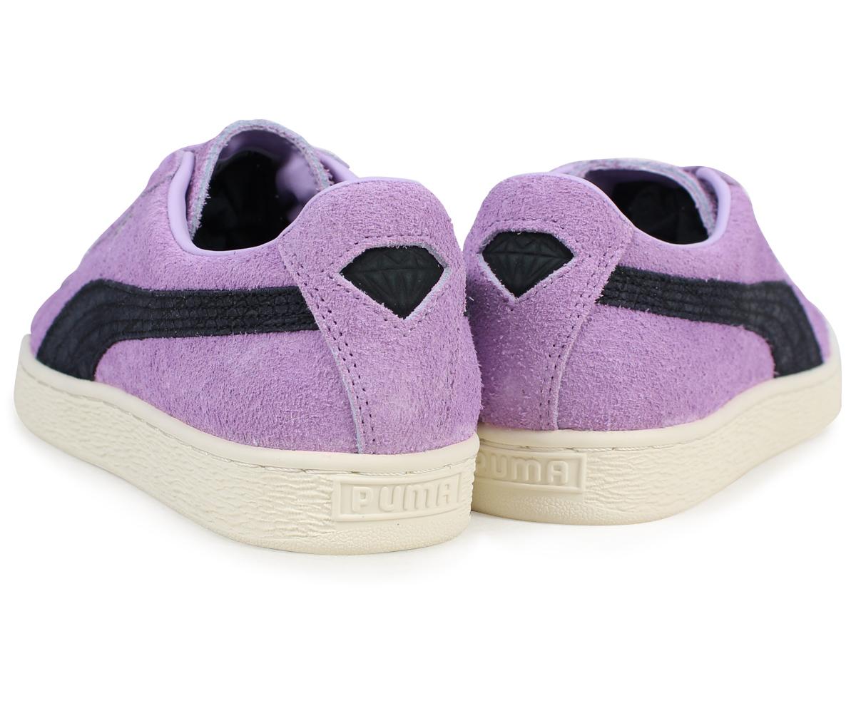 Puma Suede Diamond Sneakers Purple Mens