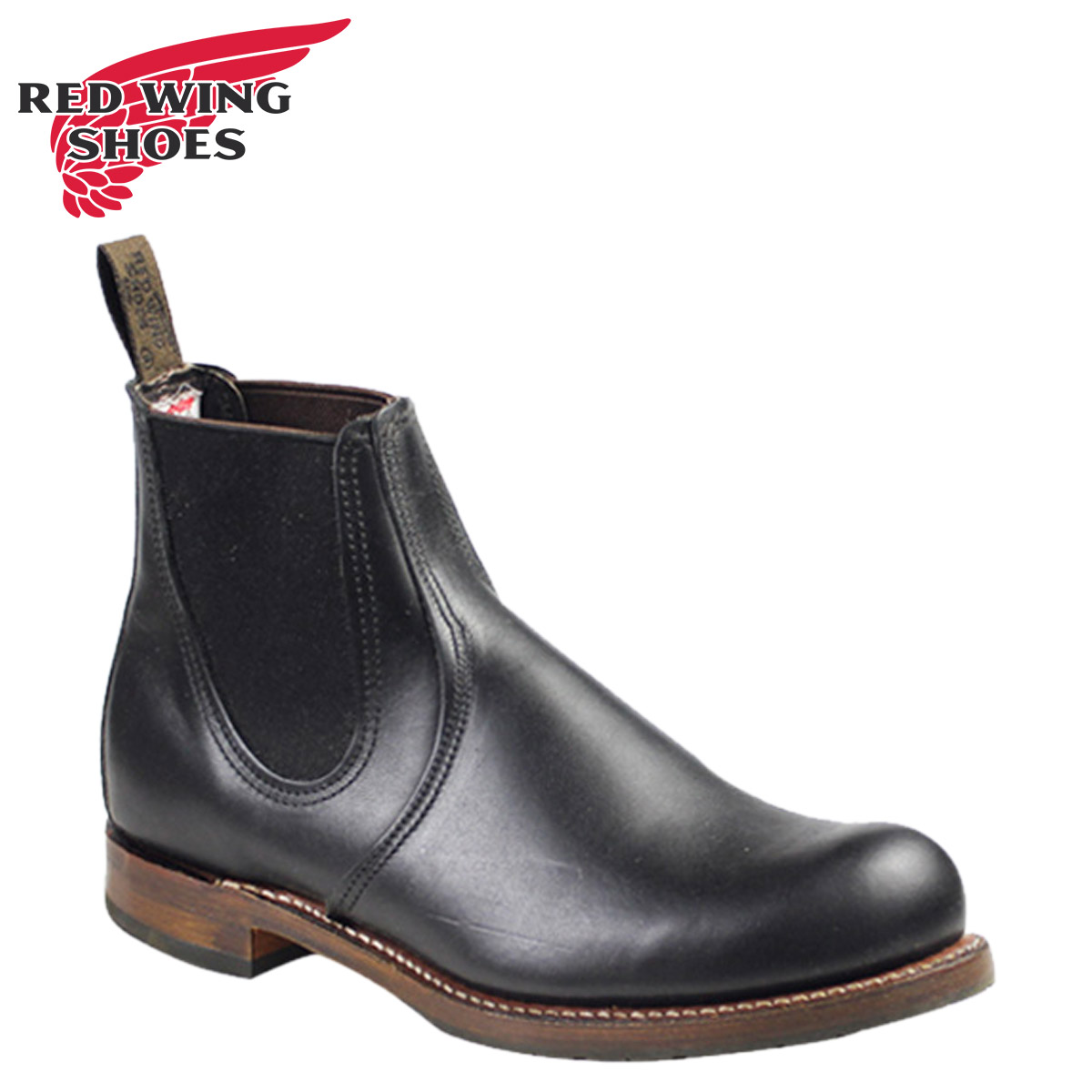 01546430d9909c Whats Up Sports Red Wing Beckman Couleur Chelsea. Men039s chelsea boots  british style fashion ankle black brown men ...