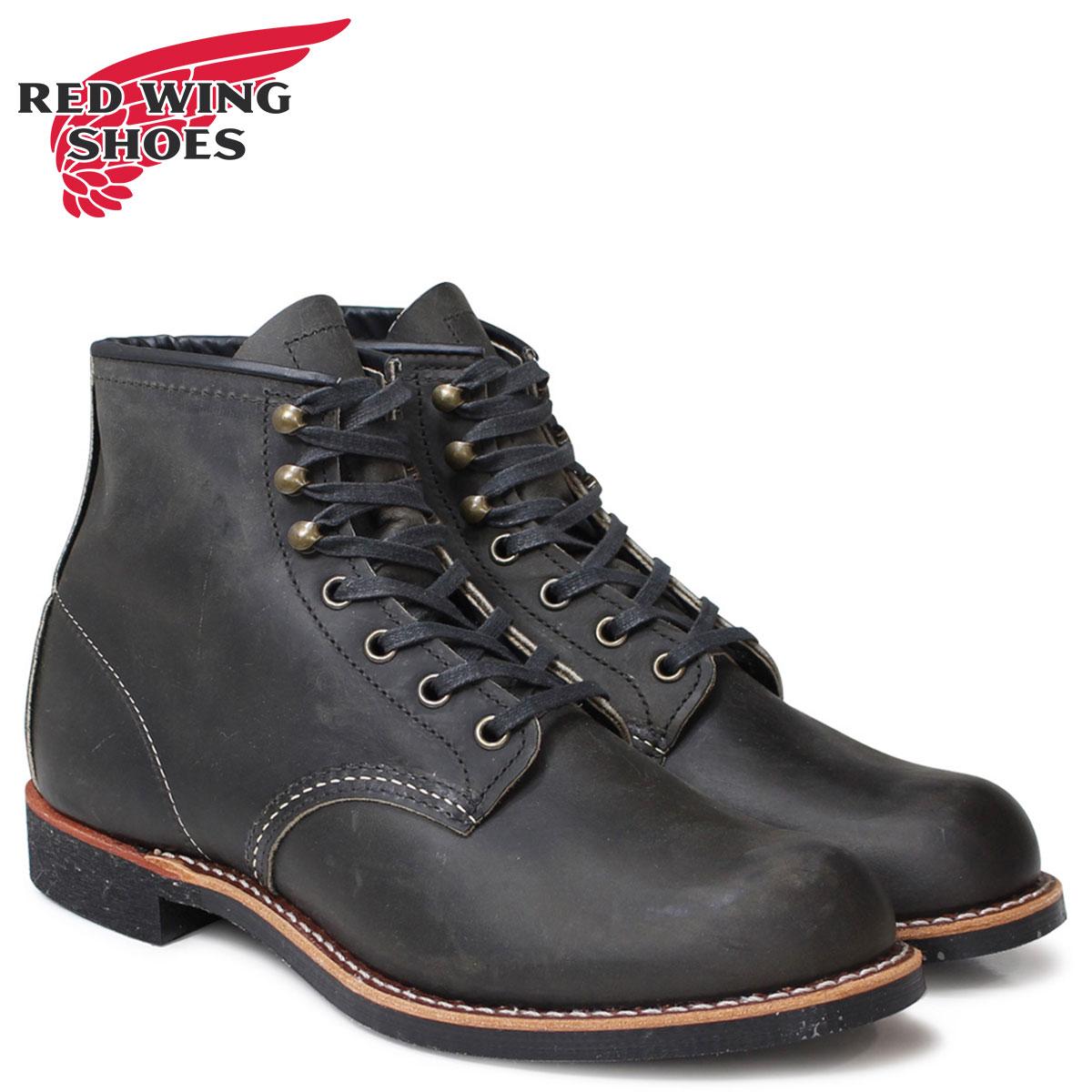 RED WING BLACKSMITH ROUND TOE レッドウィング ブーツ ブラックスミス メンズ Dワイズ ブラック 黒 3341