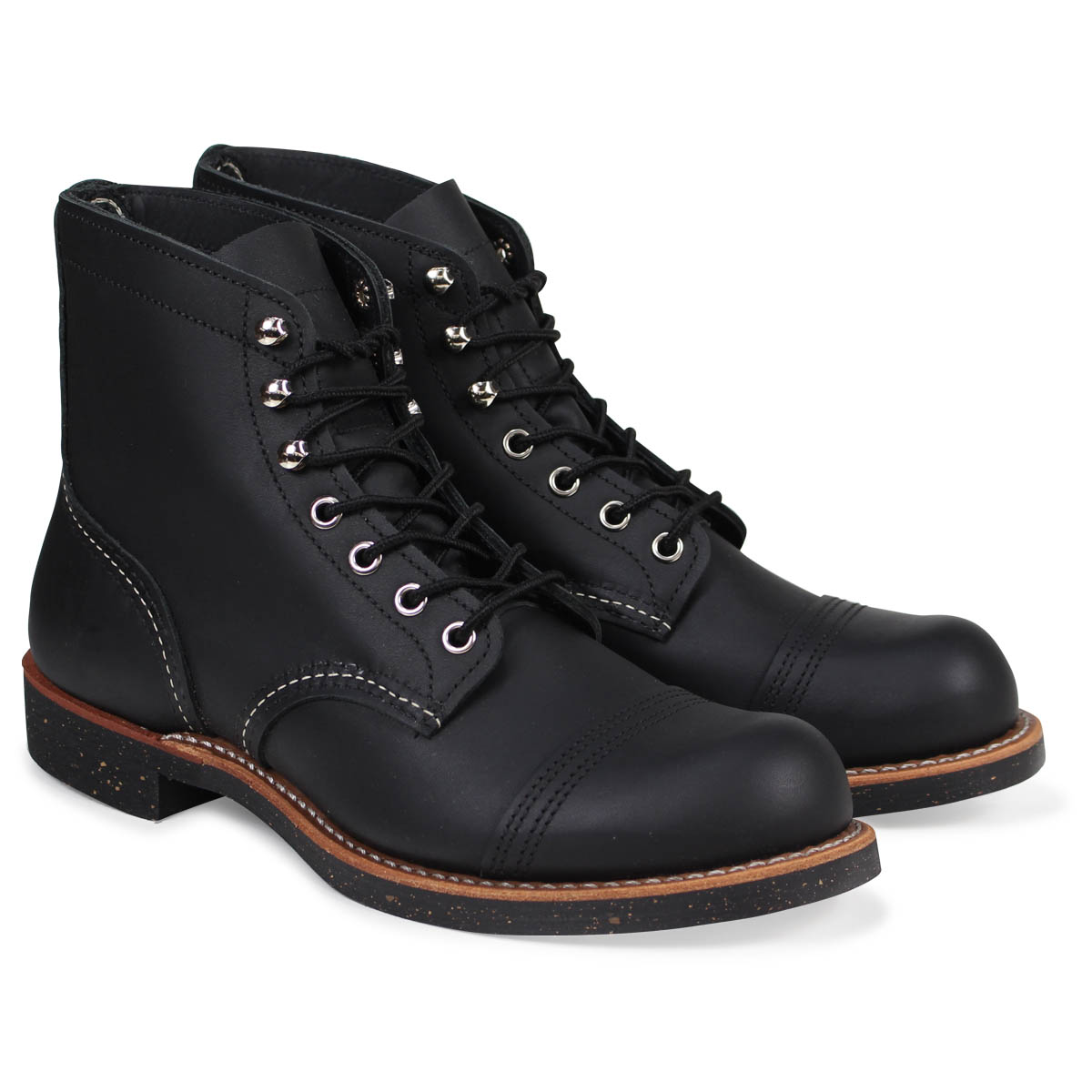 01bbb5ff5bf RED WING 6INCH IRON RANGER red wing boots iron range 6 inches iron Ranger D  Wise 8114 redwing work boots men