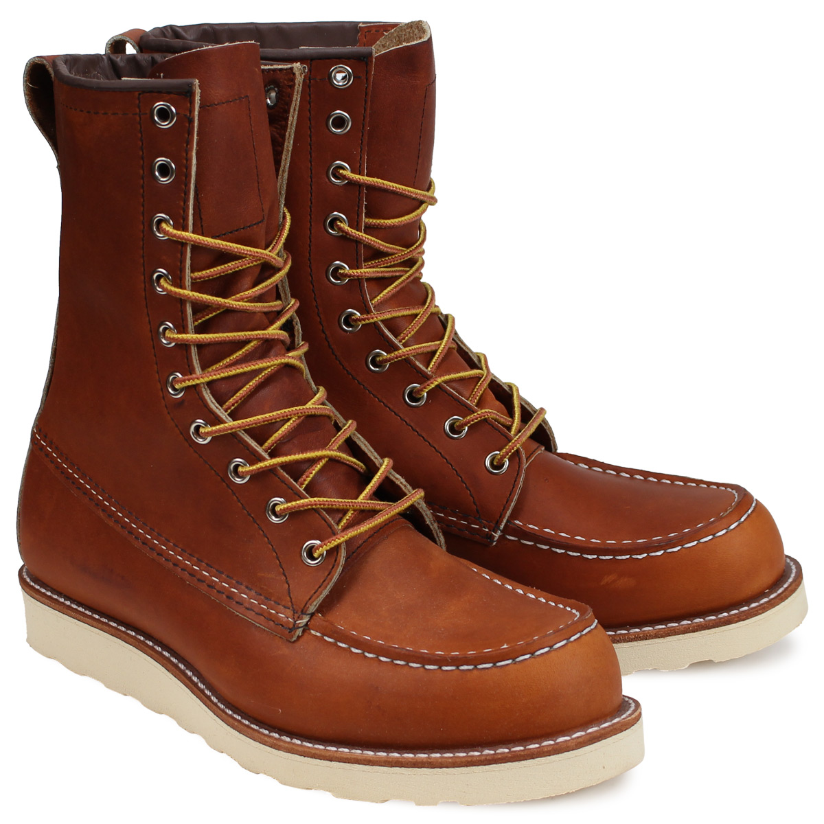 1880a6503aa RED WING 8INCH CLASSIC MOC red wing boots Irish setter classical music mock  D Wise 877 men's Lady's