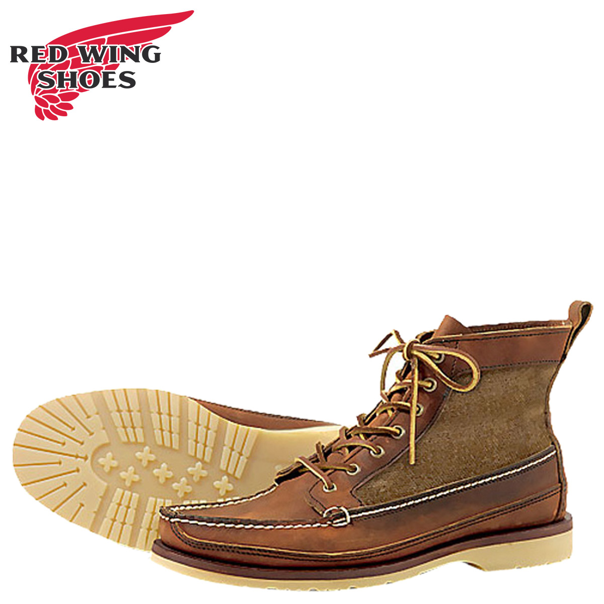 c5e7522f693 [SOLD OUT] Red Wing RED WING boots WABASHA BOOT Wabash E wise 9185 Red Wing  work boots men