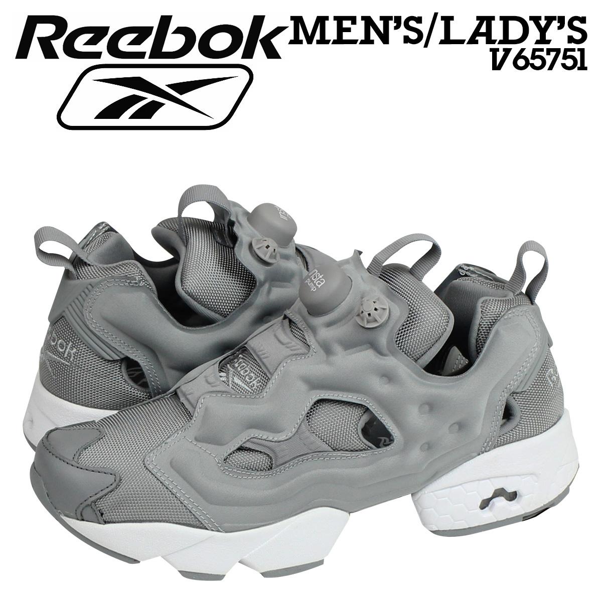 Reebok Reebok insta pump fury sneakers INSTAPUMP FURY OG V65751 men s  women s shoes grey 19633d880