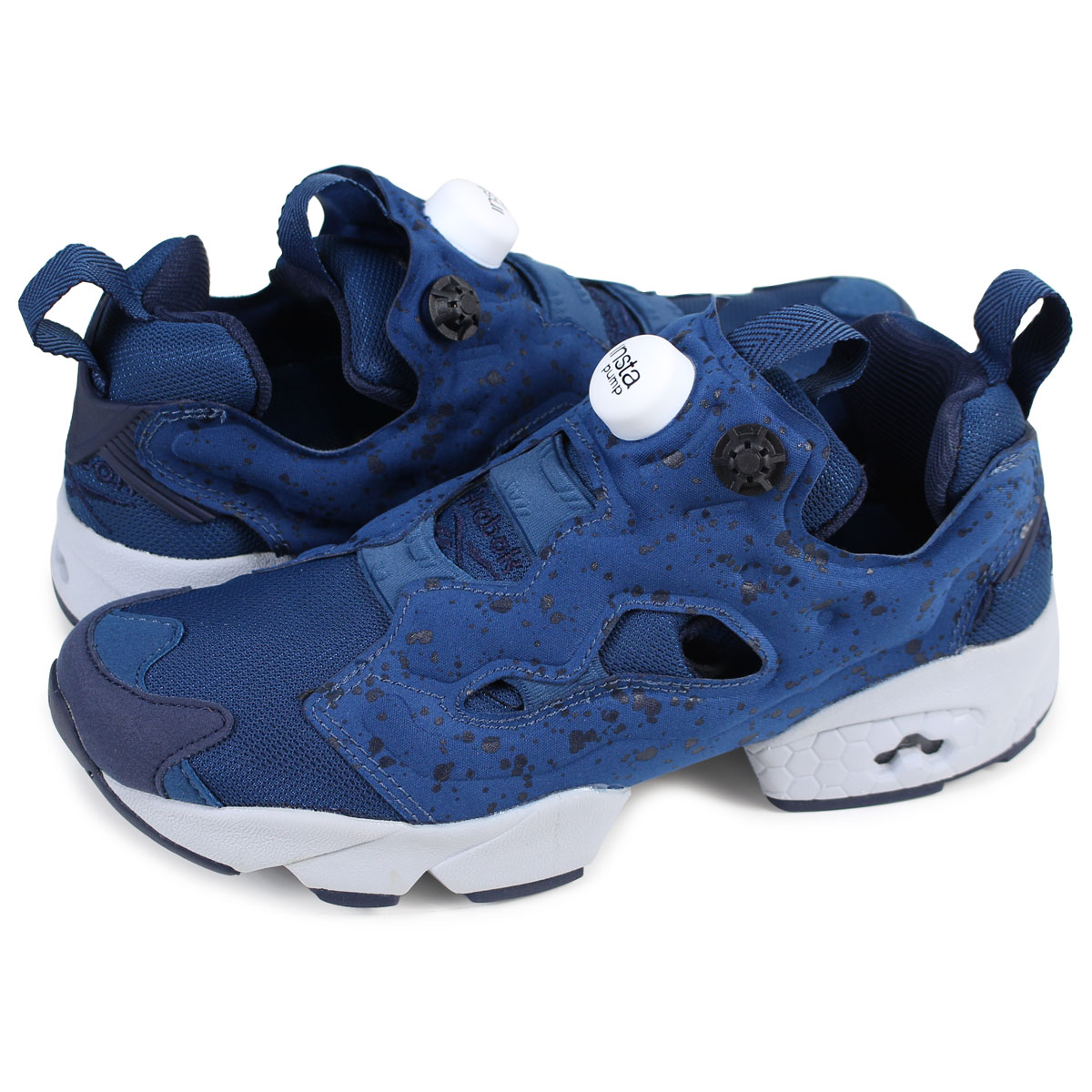 bc783c3c1acb Reebok INSTAPUMP FURY SP リーボックポンプフューリーメンズレディーススニーカー AQ9800 blue  load  planned Shinnyu load in reservation product 1 26 containing