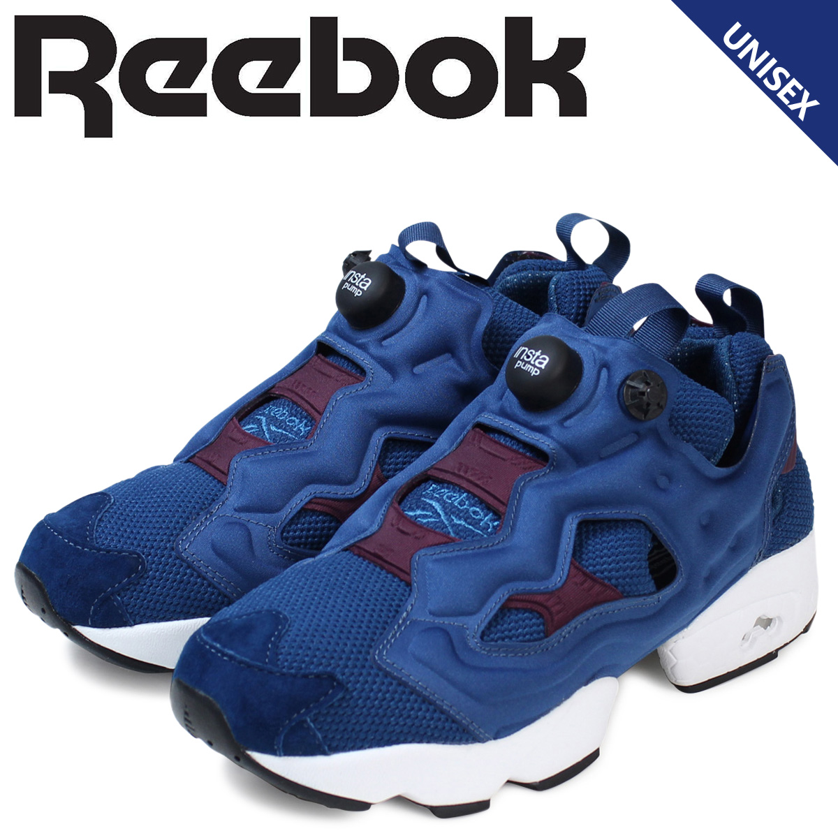 Whats up Sports  Reebok Reebok pump fury sneakers INSTA PUMP FURY OG 20th  anniversary M46895 men s women s shoes purple  918fdaa76