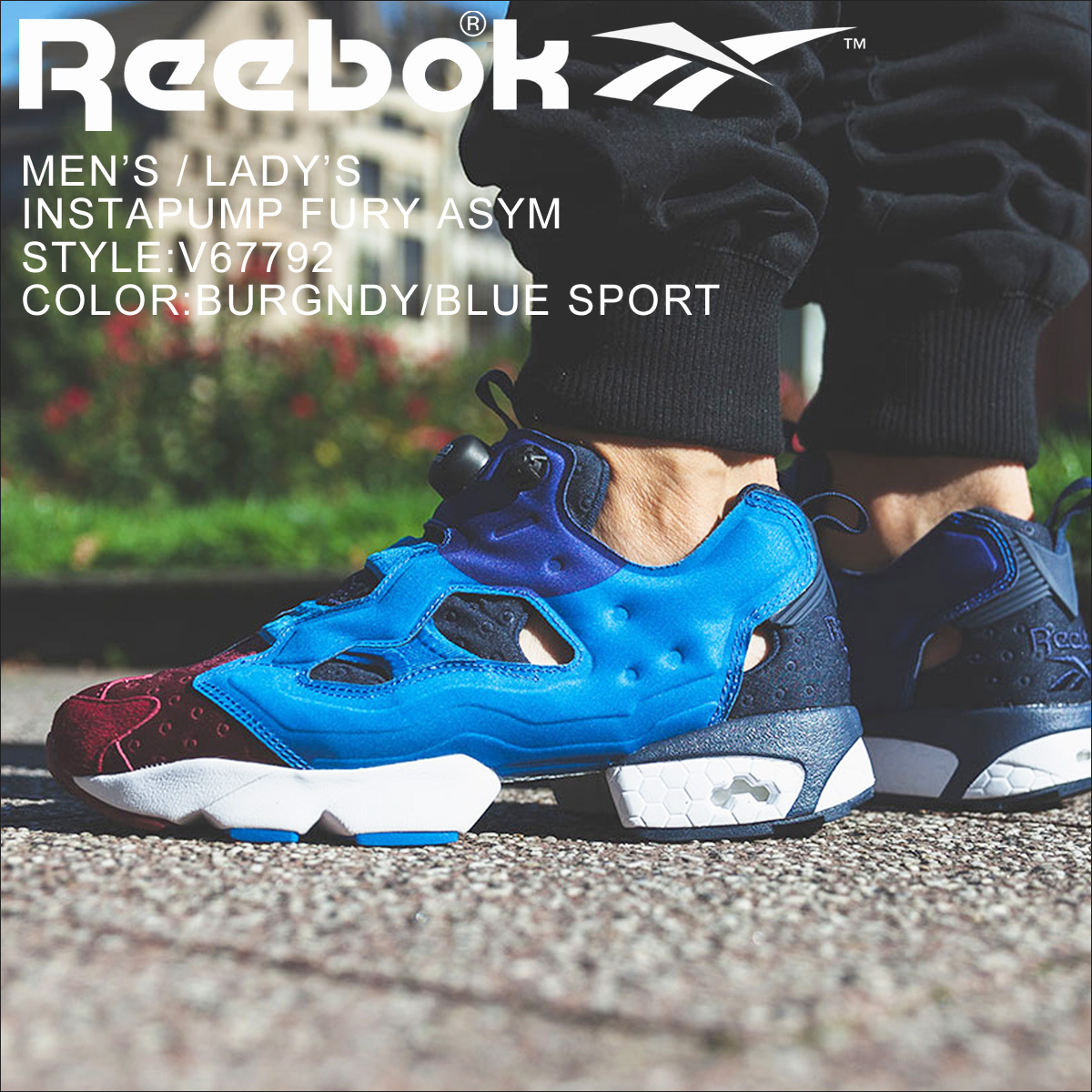 24c99428bc0 Reebok Reebok pump fury sneakers INSTAPUMP FURY ASYM V67792 men s women s  shoes blue