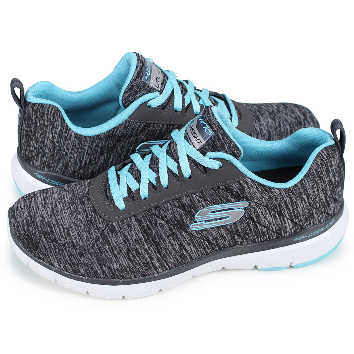 f5939a4a1438 SKECHERS FLEX APPEAL 3.0 INSIDERS スケッチャーズフレックスアピールスニーカーレディースブラック 13067  the  3 19 additional arrival
