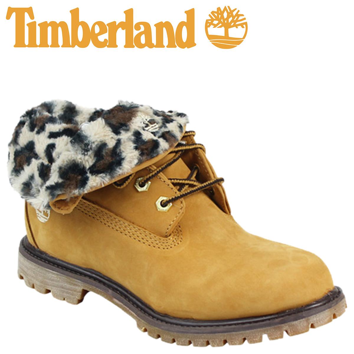 [SOLD OUT]timbarando Timberland女士WOMEN'S EK AUTH RT CHEETAH長筒靴地線守門員確實的角色頂罩21694 W懷斯惠特