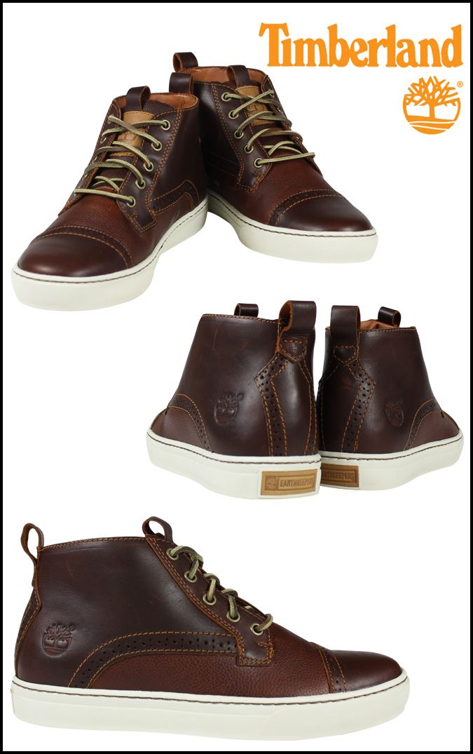 SOLD OUT  Timberland Timberland Earthkeepers adventure cupsole Cup to  shoes boots EK ADVENTURE CUPSOLE CAP TOE SHOES leather 5457A Brown mens 9d9121fde