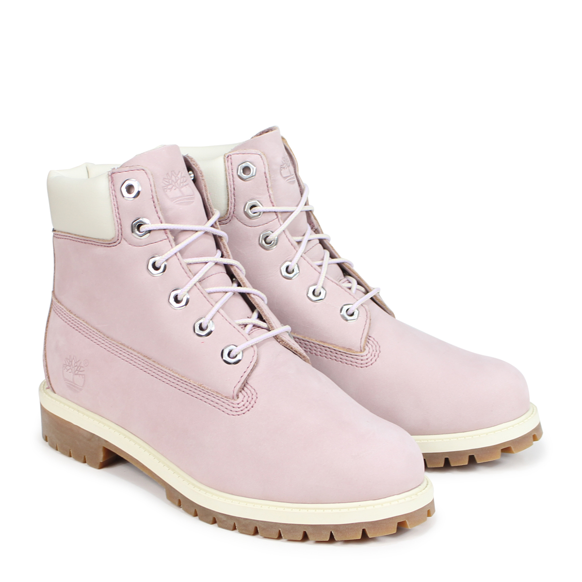 470d47d833c Timberland JUNIOR 6-INCH PREMIUM WATERPROOF BOOTS Timberland boots Lady's 6  inches kids 34,992W Wise pink [load planned reentry load in reservation ...