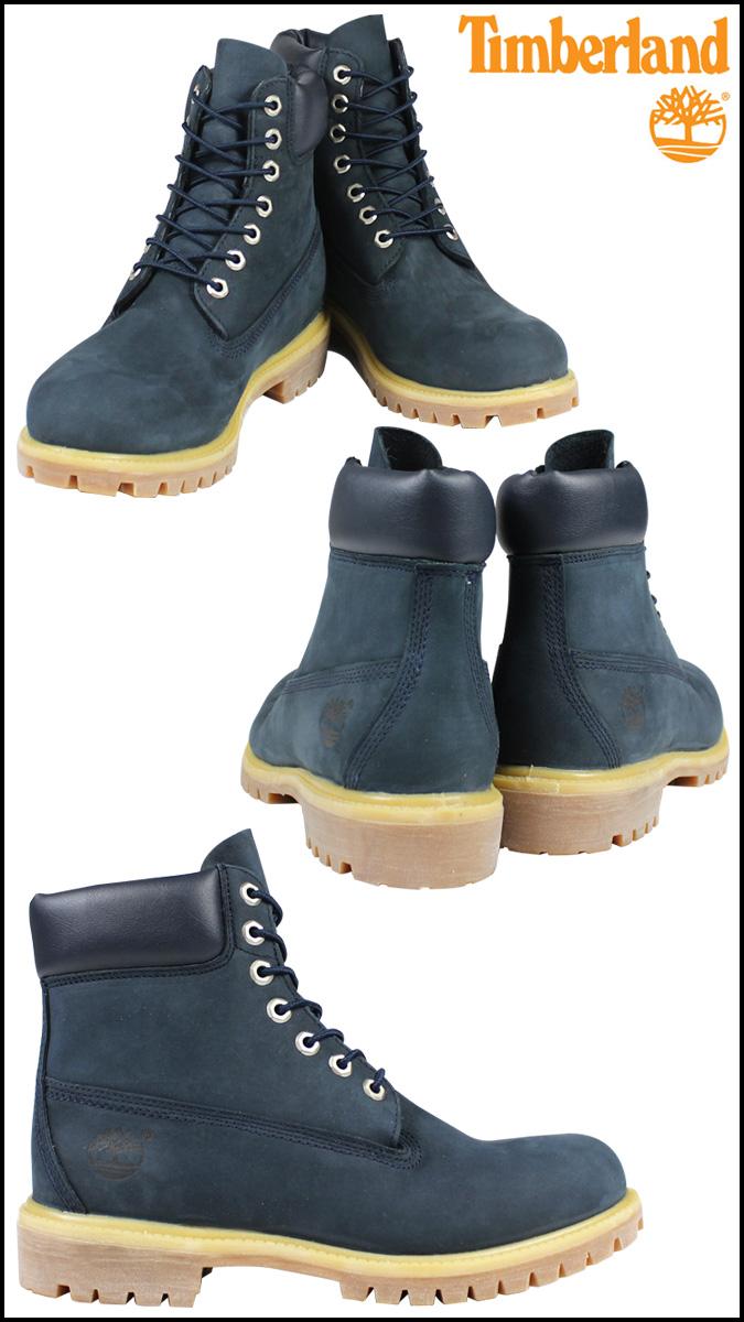 Timberland Timberland 6 inch premium waterproof boots 6 PREMIUM WATERPROOF BOOTS nubuck waterproof 6163A Navy men