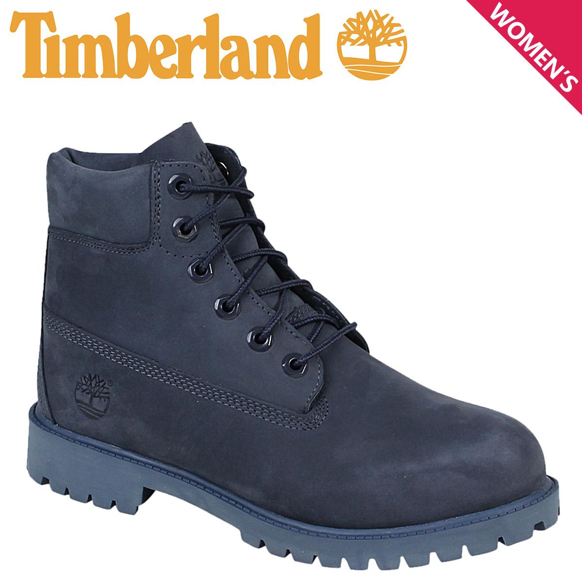 Women s Timberland Timberland 6 INCHI 6 inch premium boots JUNIOR 6-INCH  PREMIUM WATERPROOF BOOTS A171S W wise waterproof Navy 51e78f047b89