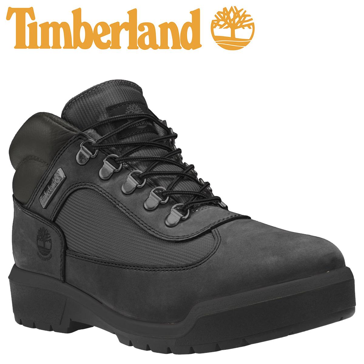 Timberland WATERPROOF FIELD BOOTS F/L ティンバーランド ブーツ メンズ A1A12 Dワイズ ブラック [8/29 追加入荷]