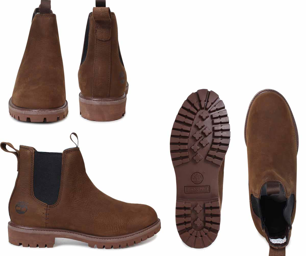 b58d1d52076 6 inches of Timberland men's Timberland boots premium 6INCHI PREMIUM  CHELSEA BOOTS A1M5G W Wise waterproofing brown [load planned Shinnyu load  in ...