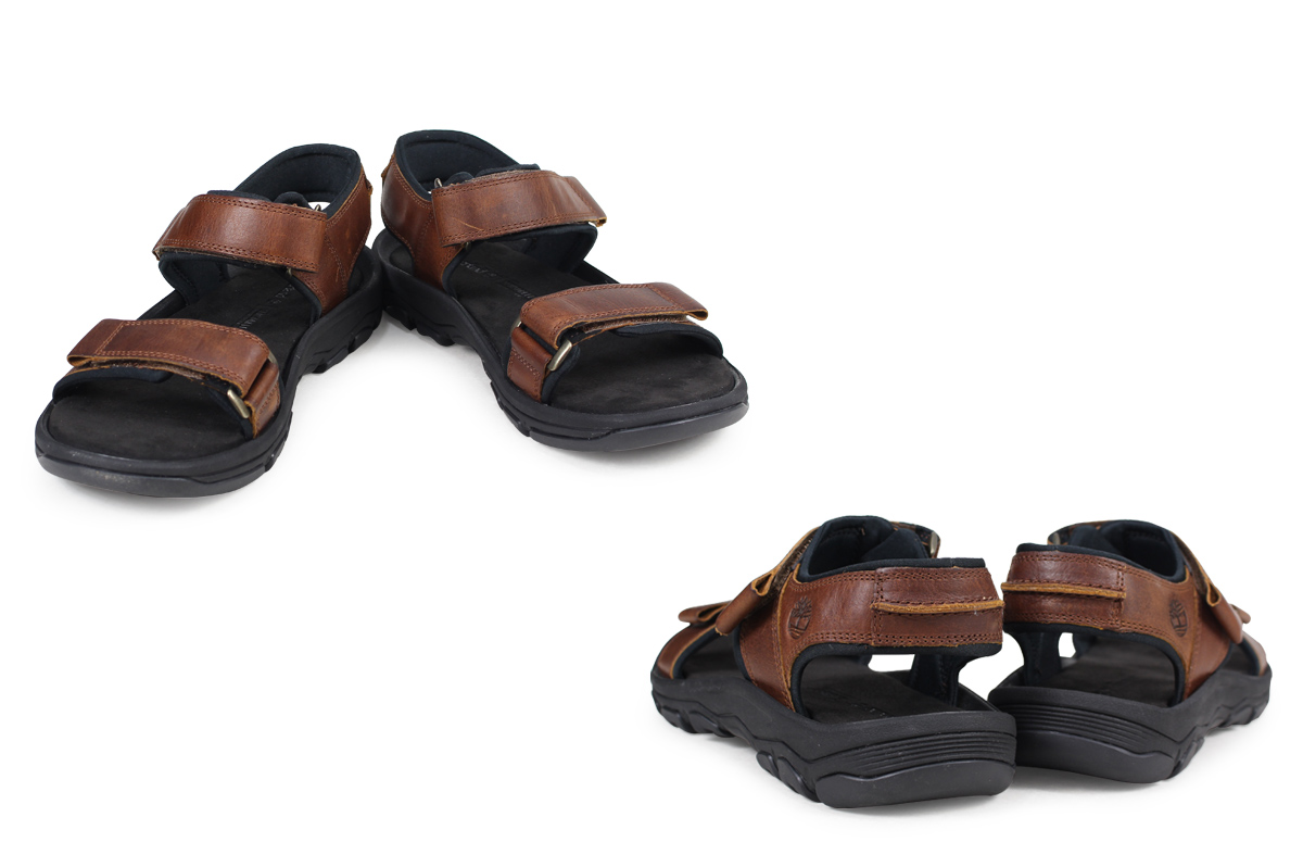 13d8999da5e5 Timberland ROSLINDALE 2-STRAP SANDALS Timberland sandals men A1OWH M Wise  brown  load planned Shinnyu load in reservation product 3 13 containing