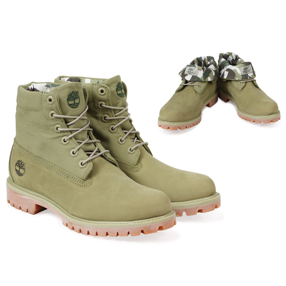 best authentic best deals on stable quality Timberland ROLL TOP BOOT Timberland roll top boot men A1PBI W Wise green