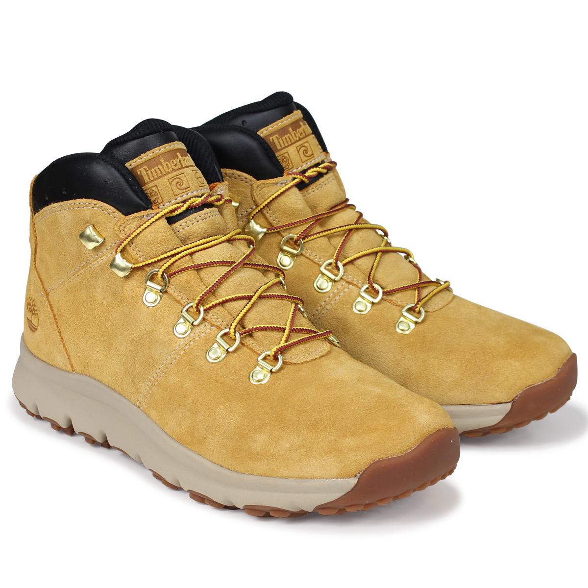 Timberland WORLD HIKER ティンバーランド ブーツ メンズ A1QEW Mワイズ ウィート