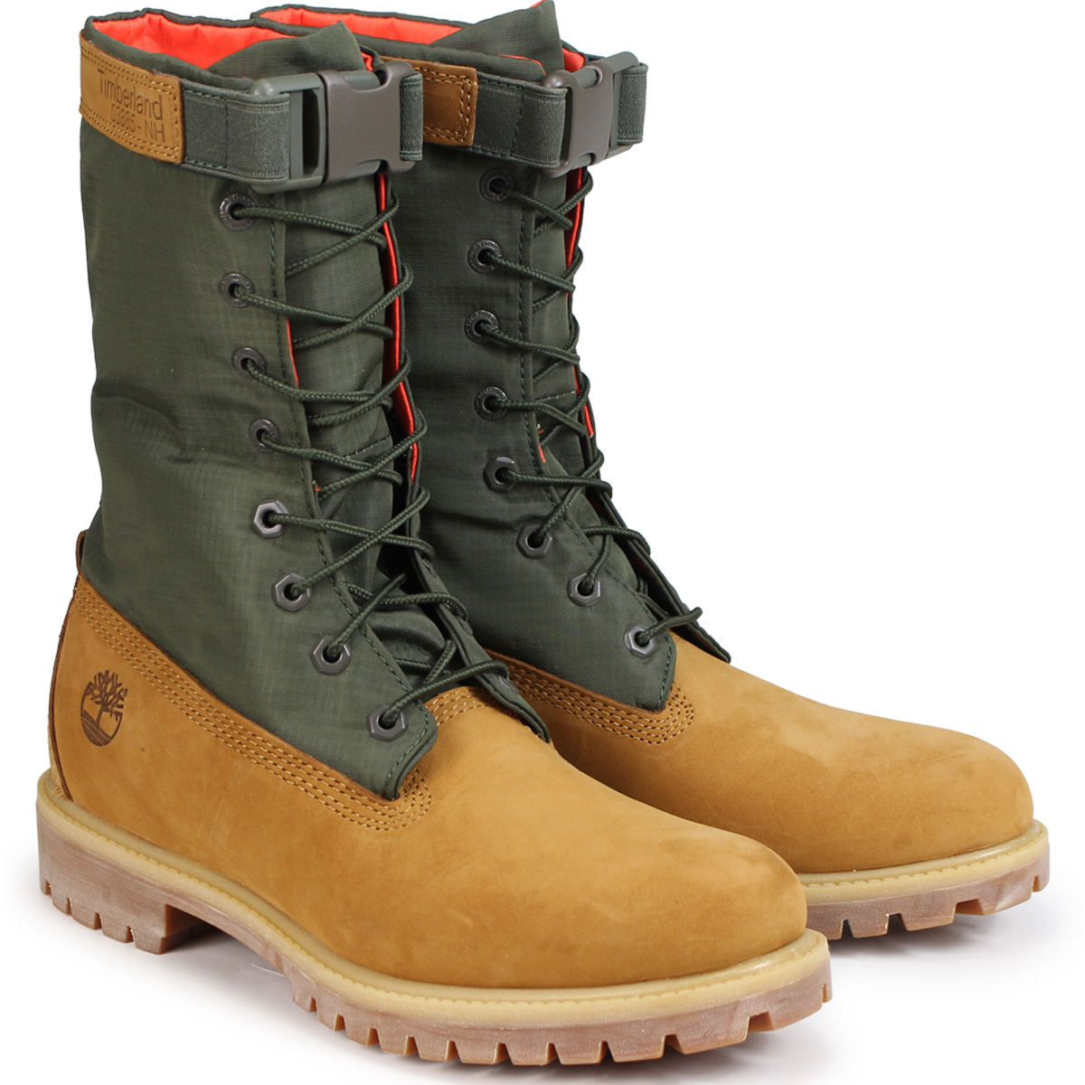 d63b738db22 6 inches of Timberland 6-INCH PREMIUM GAITER BOOTS Timberland boots men  A1QY8 W Wise dark green