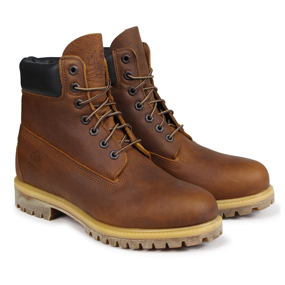 Timberland HERITAGE 6-INCH PREMIUM BOOTS ティンバーランド ブーツ 6インチ メンズ Wワイズ ブラウン A1R18 [3/19 追加入荷]