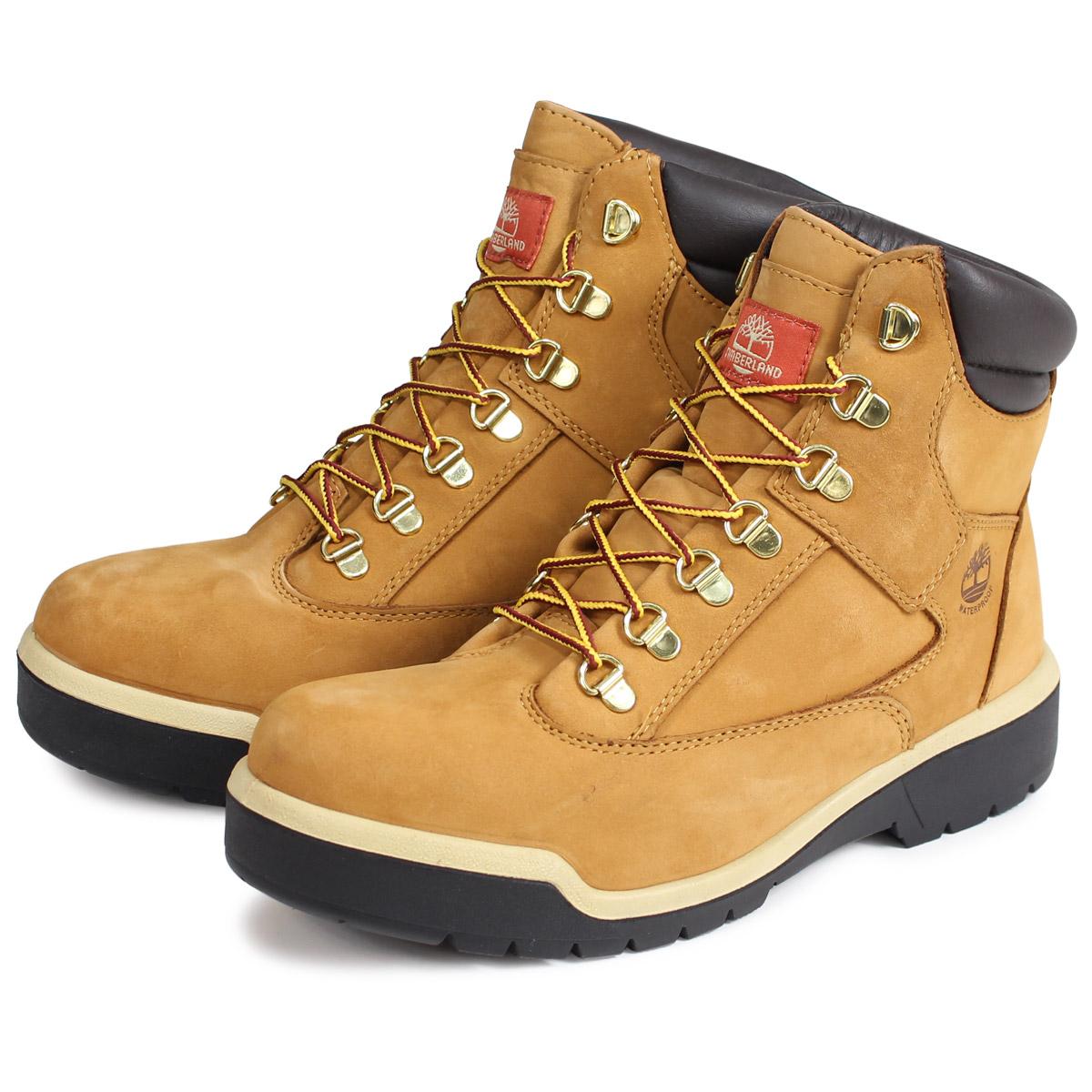 Timberland 6-INCH FIELD BOOT ティンバーランド ブーツ 6インチ メンズ Mワイズ ウィート A1RCO