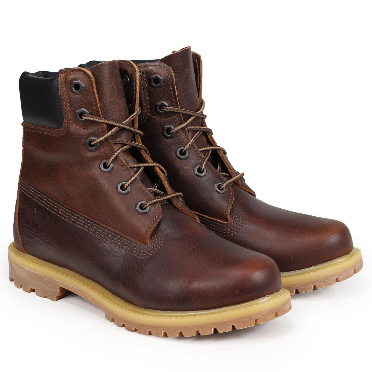 Timberland 6-INCH PREMIUM BOOTS ティンバーランド ブーツ 6インチ メンズ レディース Wワイズ ブラウン A1TLM [3/19 追加入荷]
