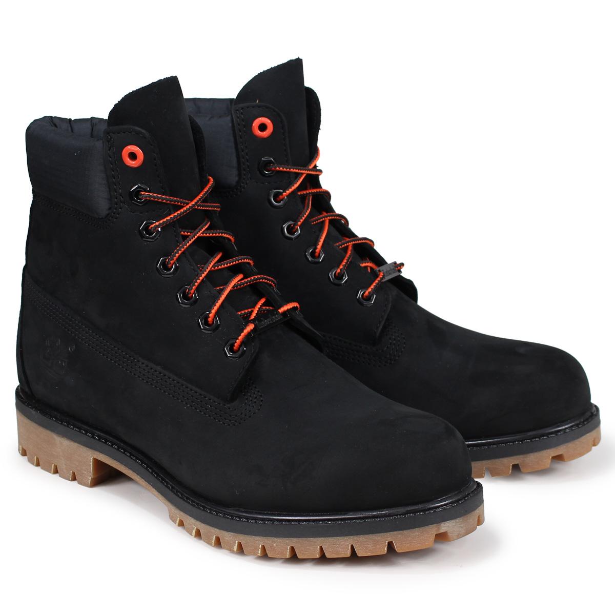 Timberland 6-INCH PREMIUM BOOTS ティンバーランド ブーツ メンズ 6インチ A1U7M Wワイズ ブラック