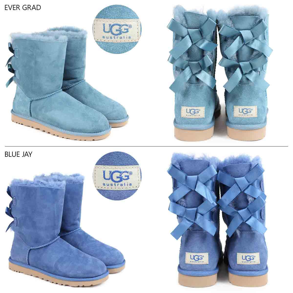 9a050649d02 UGG UGG Bailey bow boots WOMENS BAILEY BOW 1002954 ladies