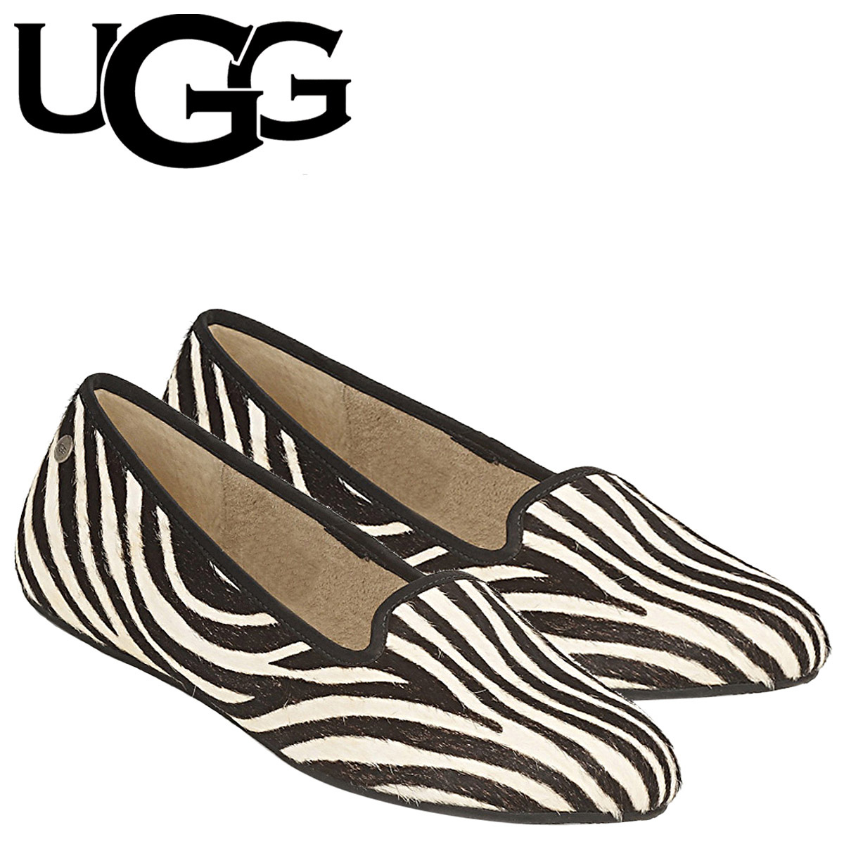 UGG UGG Alloway pumps flat shoes WOMENS ALLOWAY EXOTIC 1003491 suede shearling Womens