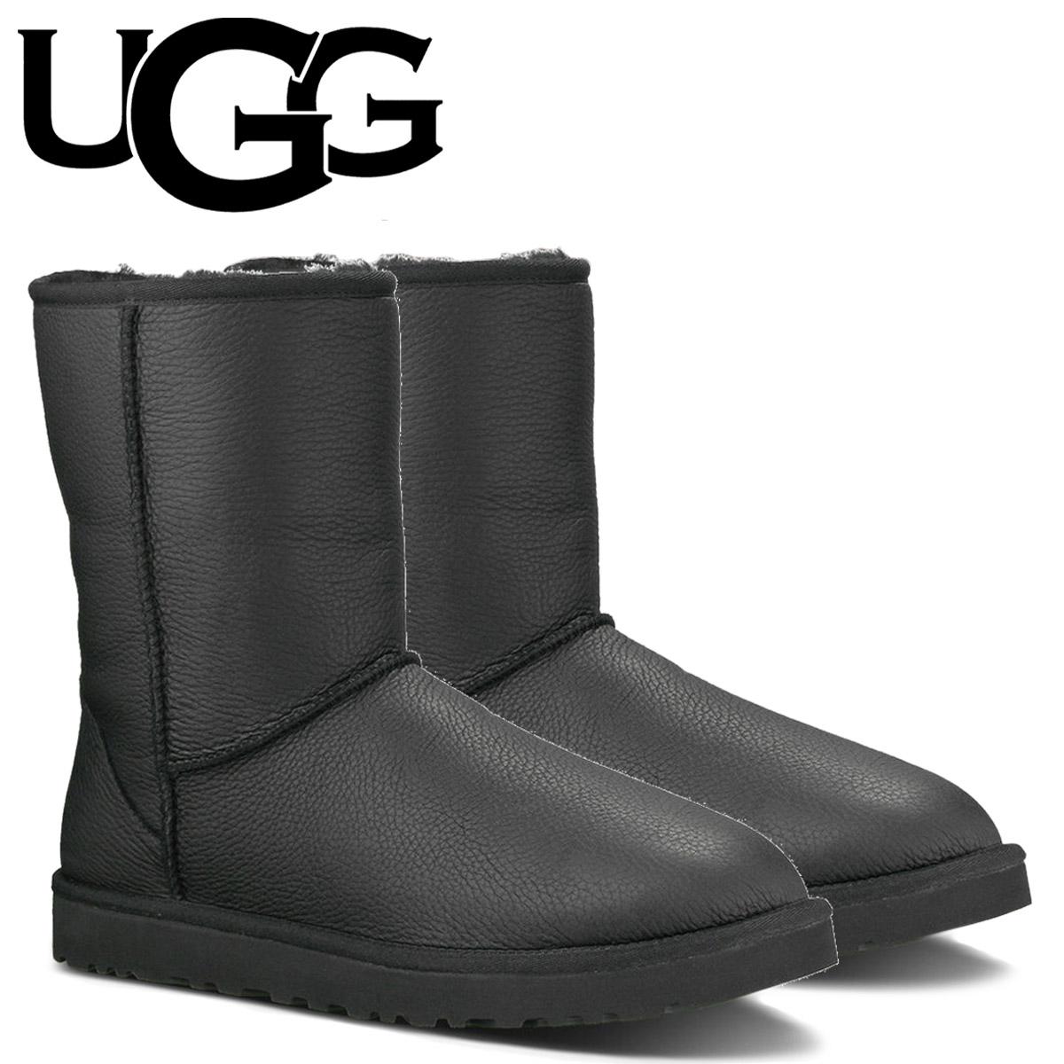 a71255dfb89 UGG UGG men's classic short Shearling boots MENS CLASSIC SHORT 1003944 black