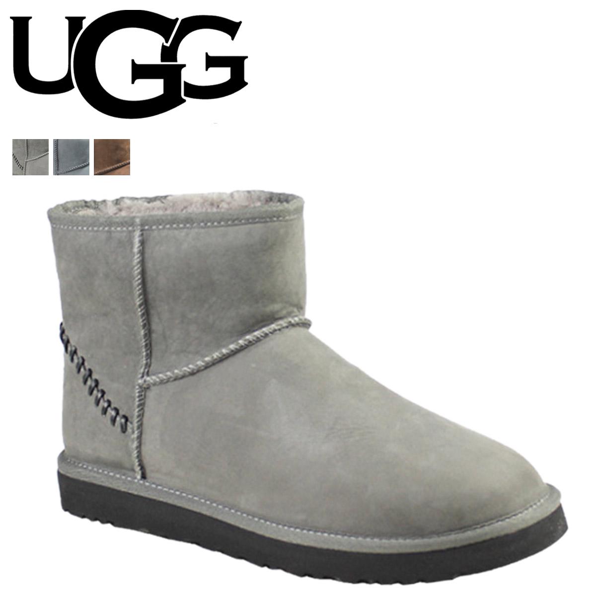 14faa6451b8 UGG UGG men's classic mini Sheepskin boots MENS CLASSIC MINI DECO 1006523  Sheepskin