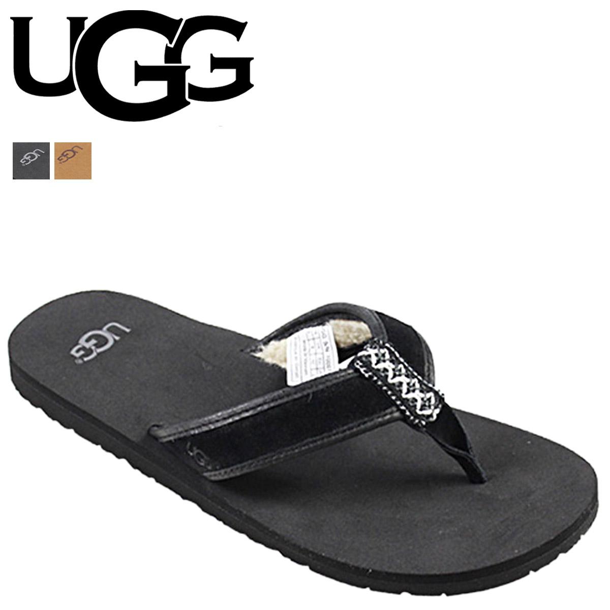 8b282160bfc [SOLD OUT] UGG UGG men's Jesse Borrego sandal thong Sandals MENS BORREGO  Beach Sandals flip flop 1006746 leather