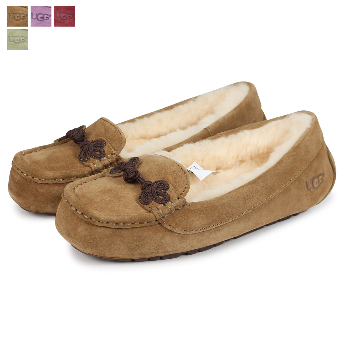 49f176701d8 アグ UGG liver Kashin mouton slip-on shoes WOMENS SUKI 1009276 sheepskin  Lady's