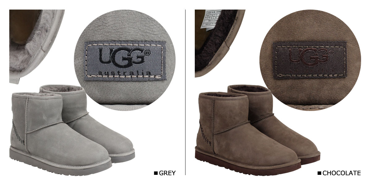 ad90c41dc01 UGG UGG men's classic mini Sheepskin boots MENS CLASSIC MINI DECO CAPRA  1009687 Sheepskin