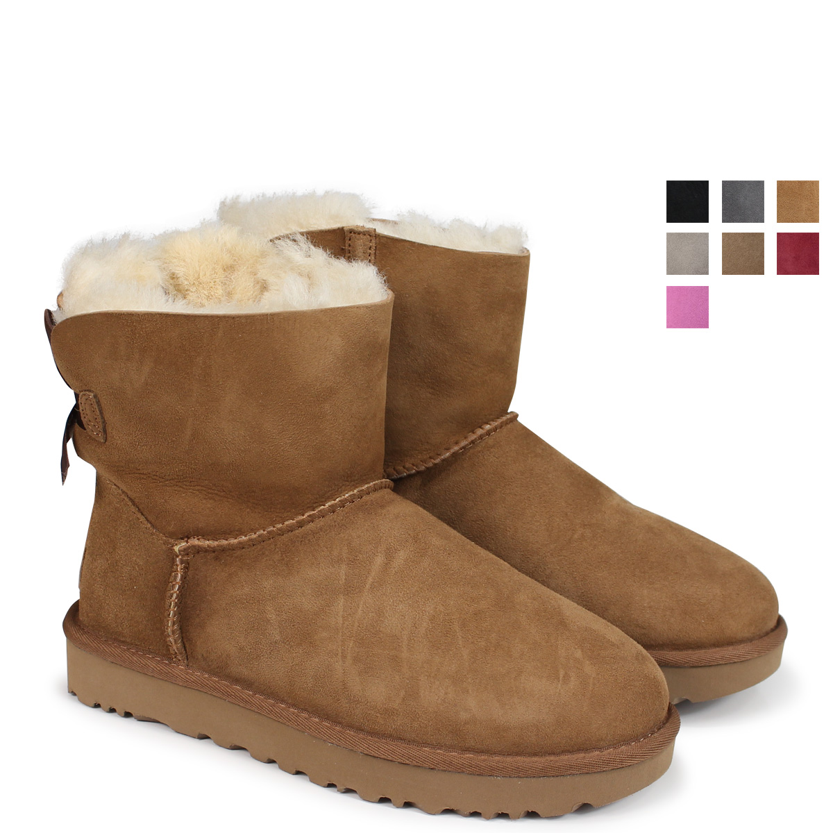a582178f278 UGG MINI BAILEY BOW アグムートンブーツミニベイリーボウ 2 1016501 Lady's