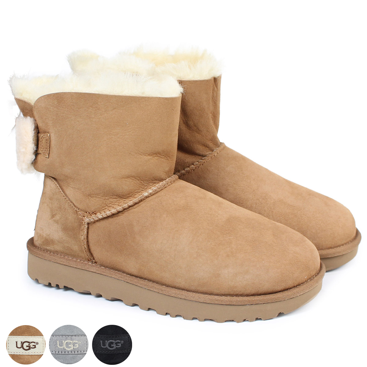19dfd6d870d UGG WOMENS ARIELLE agua re-yell mouton boots Lady's 1019625 sheepskin suede  [11/15 Shinnyu load]