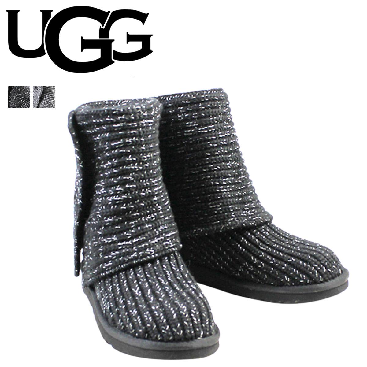 57eda6b268c UGG UGG lattice CARDI boots WOMENS LATTICE CARDY 1876 Sheepskin knit ladies