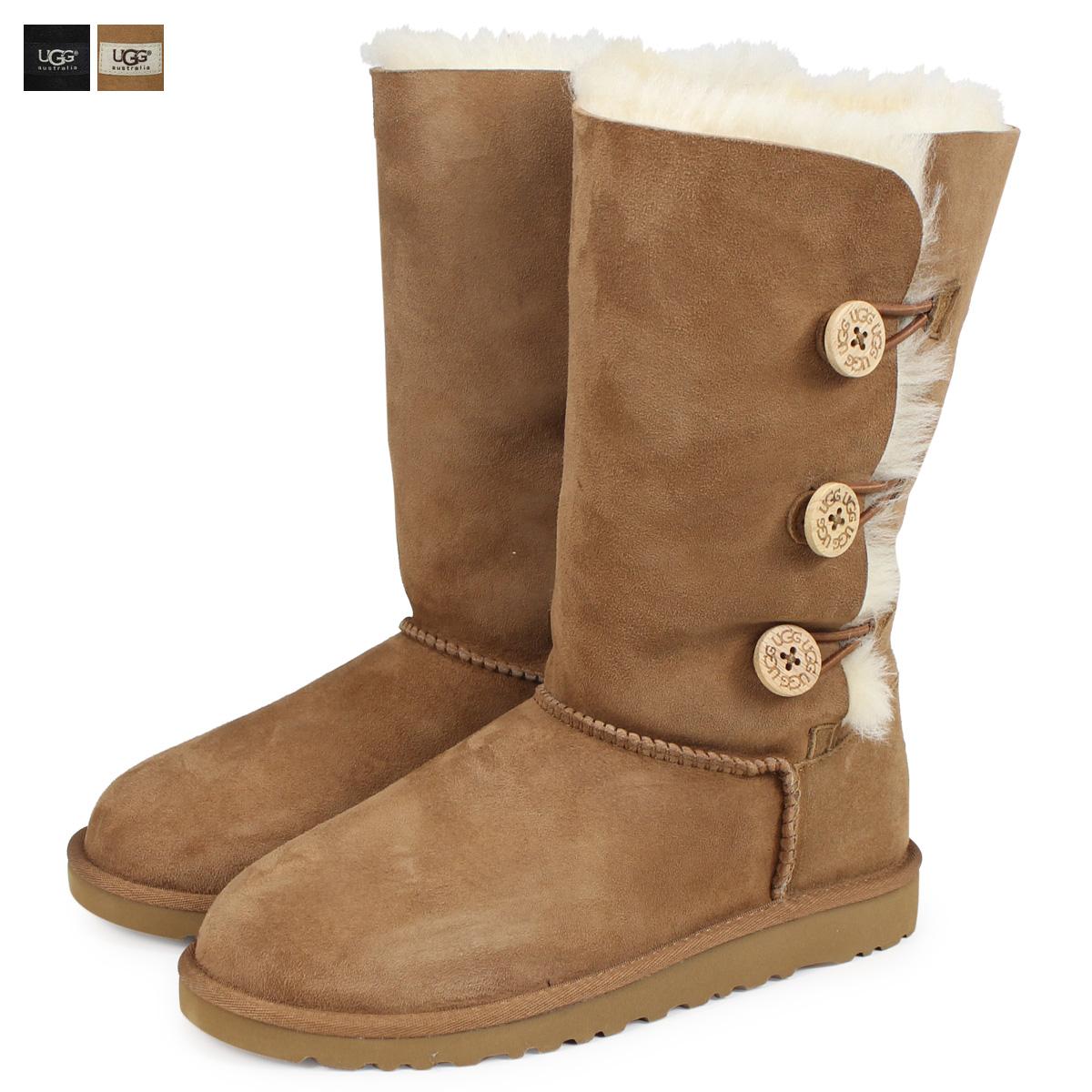 7157c0e6891 UGG UGG kids Bailey button boots KIDS BAILEY BUTTON TRIPLET 1962YK  Sheepskin ladies
