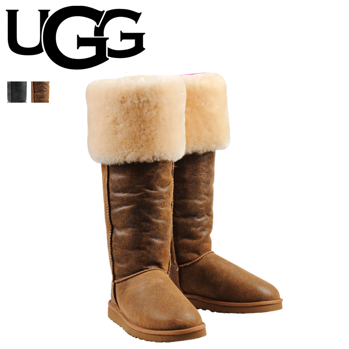 9982f28a1da Whats up Sports   SOLD OUT  UGG UGG Sheepskin boots knee high boots ...