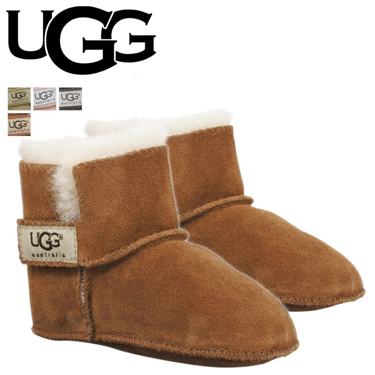 f31c33fc3e2 UGG UGG baby Erin boots INFANTS ERIN 5202 5205 mens Sheepskin baby shoes