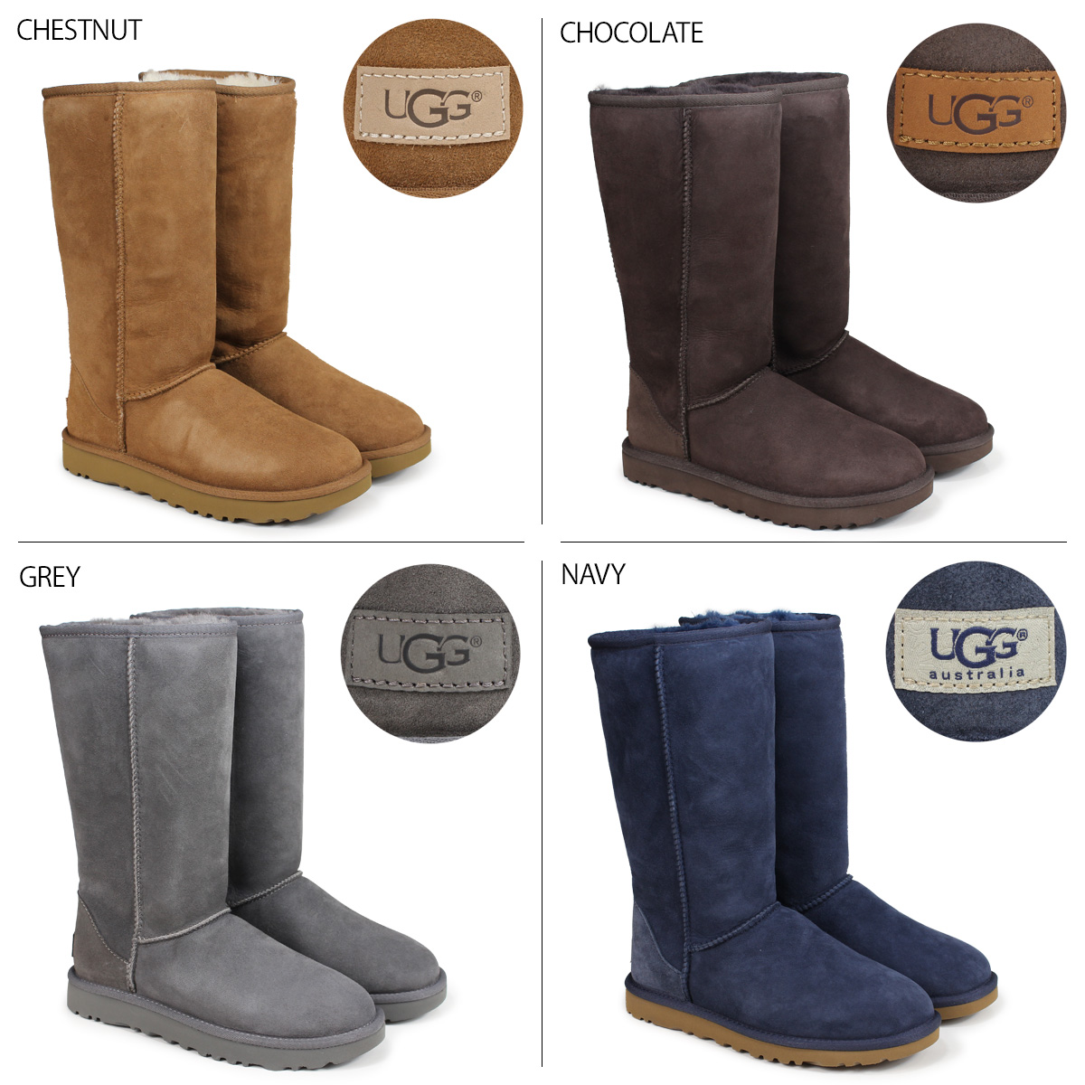 bc32740adca UGG WOMENS CLASSIC TALL II アグムートンブーツクラシックトール 2 Lady's 5815 1016224