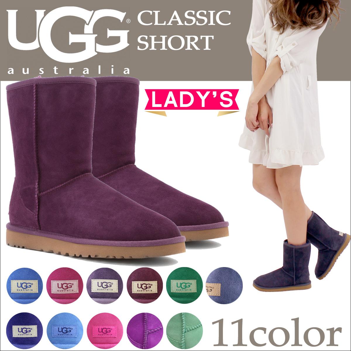 UGG Ugg Classic short Shearling boots WOMENS CLASSIC SHORT 5825 Sheepskin women's