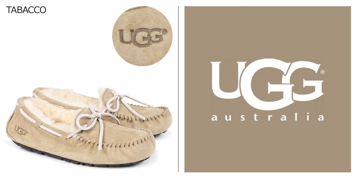 UGG UGG Dakota moccasin Sheepskin Shoes WOMENS DAKOTA 5612 Sheepskin ladies