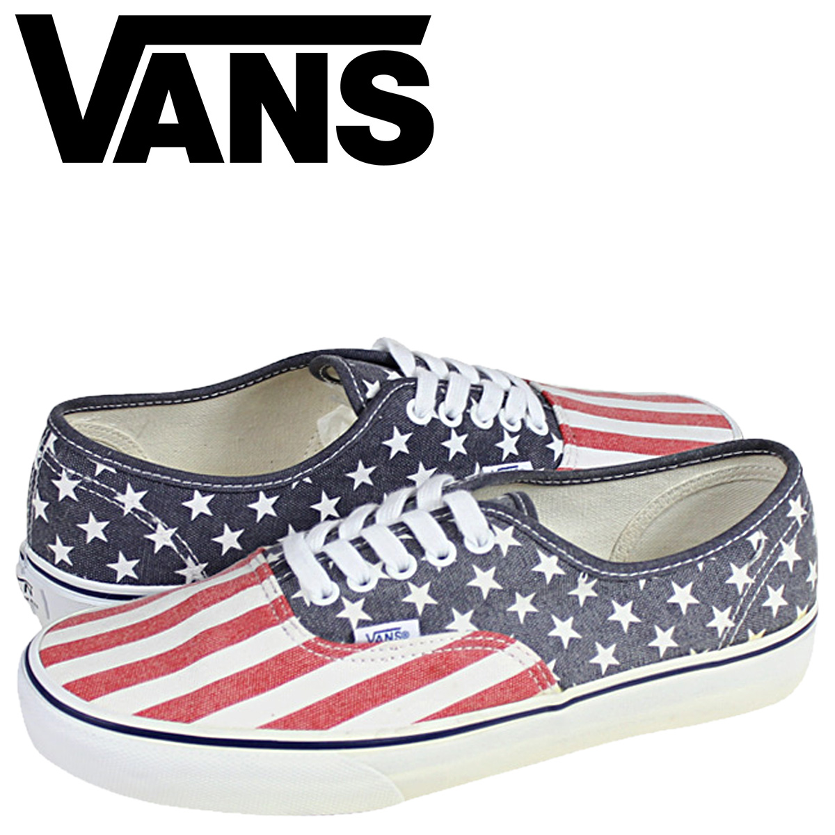 a9103ae909 Whats up Sports   SOLD OUT  vans VANS AUTHENTIC STARS  amp  STRIPES ...