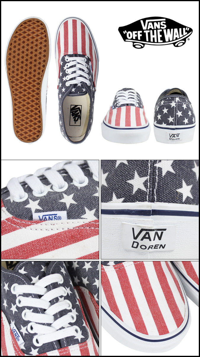 470b86aebe Whats up Sports   SOLD OUT  vans VANS AUTHENTIC STARS  amp  STRIPES ...