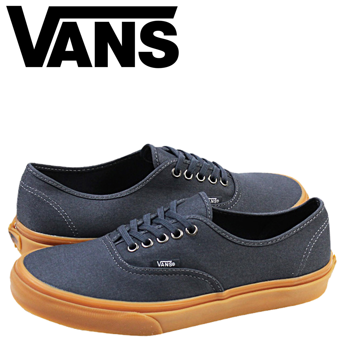 VANS vans authentic sneakers AUTHENTIC GUMSOLE VN-0W4NDVU men shoes navy cfbfdc476